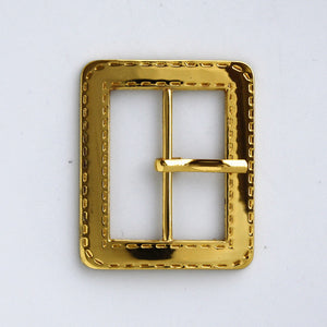 #0792 Gold Finish Buckle 30mm