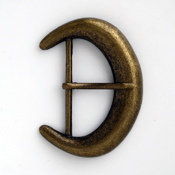 #0798 Antique Brass Buckle 50mm