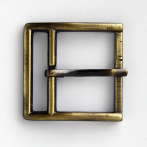 #0818 Antique Brass Buckle 36mm