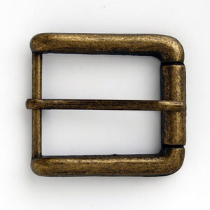 #0835 Antique Brass Buckle 30mm