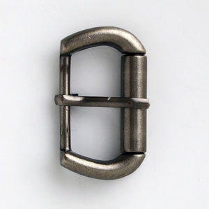 #0846 Antique Nickel Buckle 30mm
