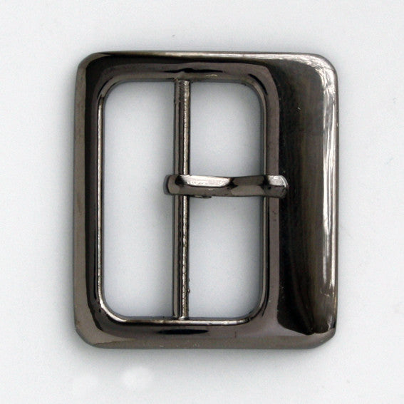#0861 Gunmetal Buckle 25mm