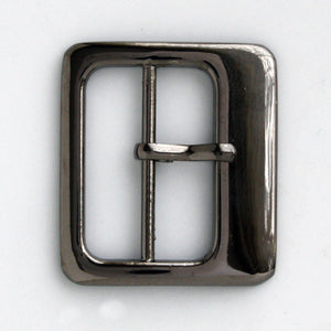 #0861 Gunmetal Buckle 24mm