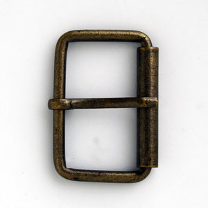 #0865 Antique Brass Buckle 40mm
