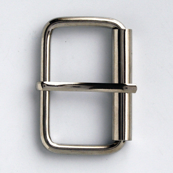#0891 Nickel Finish Buckle 40mm