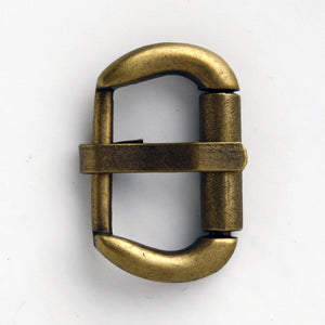 #0908 Antique Brass Buckle 20mm