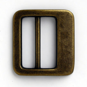 #0912 Antique Brass Slider 25mm