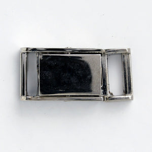 #0920 Gunmetal Clasp Buckle 10mm