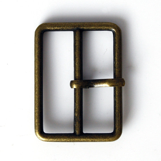 #0948 Antique Brass Rectangle Buckle 28mm