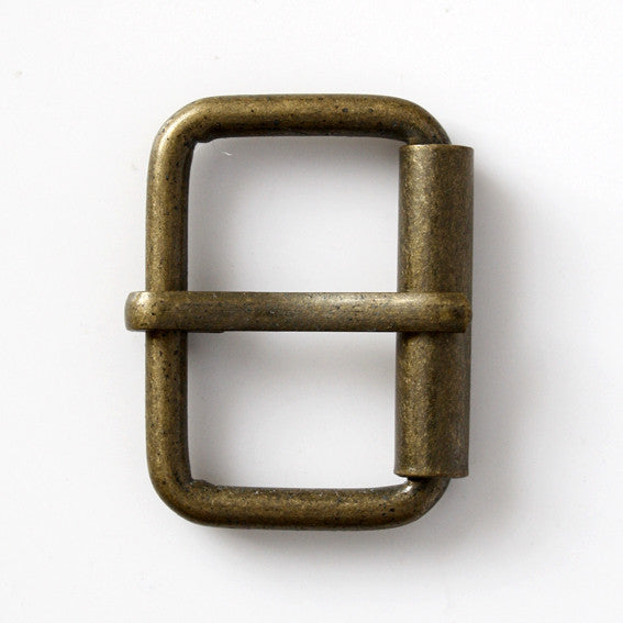 #0949 Antique Brass Rectangle Buckle 26mm