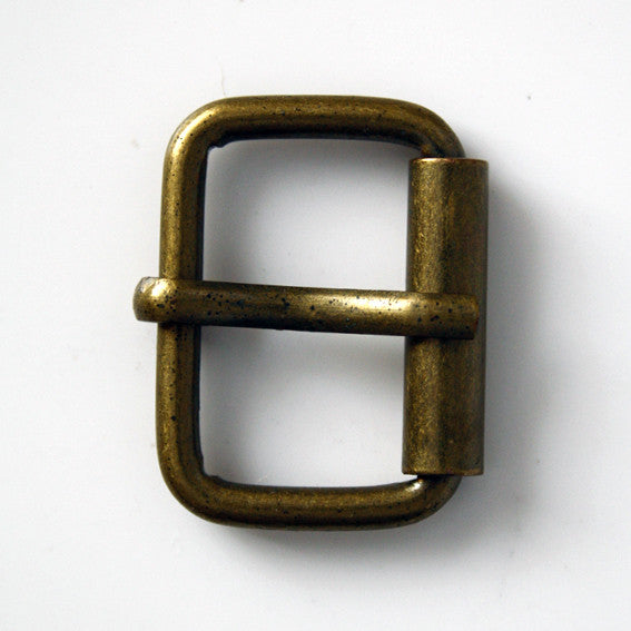 #0951 Antique Brass Buckle 20mm