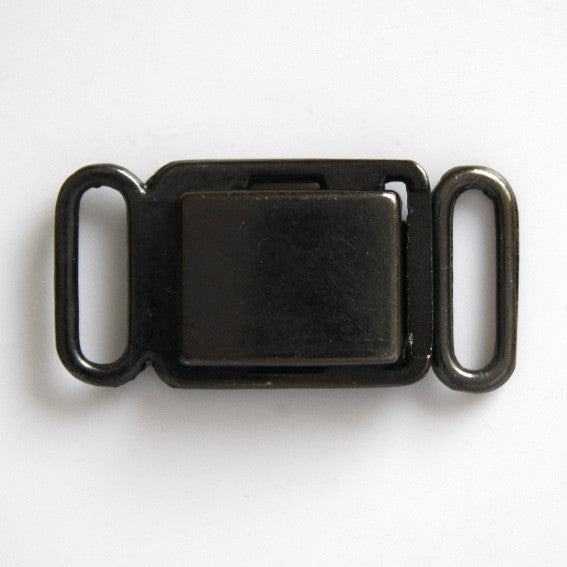 #0965 Gunmetal Clasp Buckle 10mm