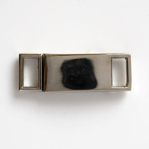 #0971 Nickel Finish Buckle 8mm