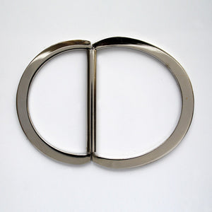 #1146 Double D ring 46mm