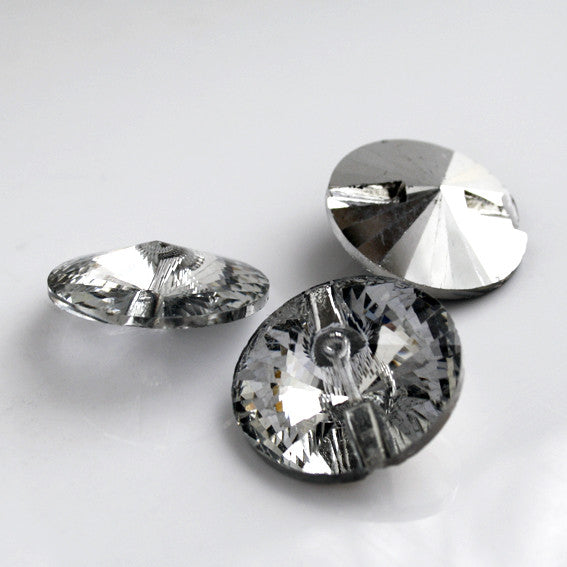 #1803 Crystal button 15mm