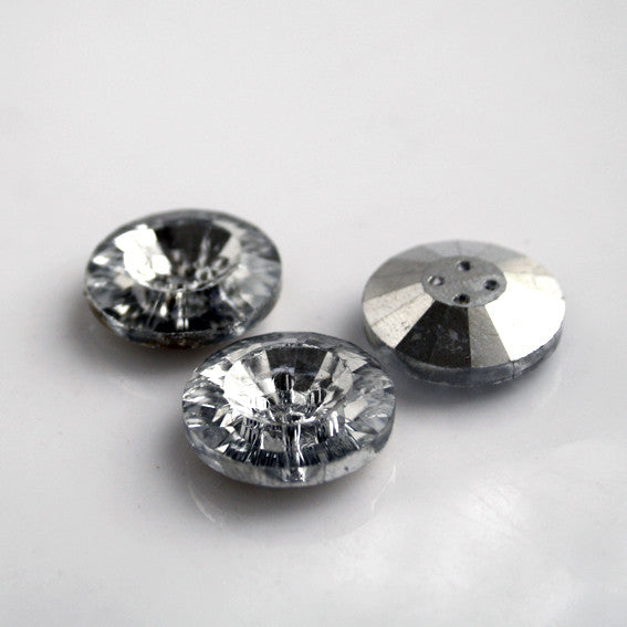 #1809 Crystal button 25mm
