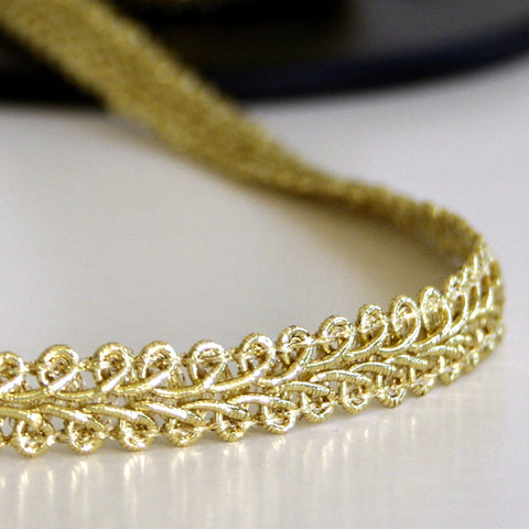#2030 Classic Cornelli braid gold 10mm