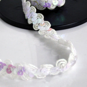 Sequin Trim Assorted Colours