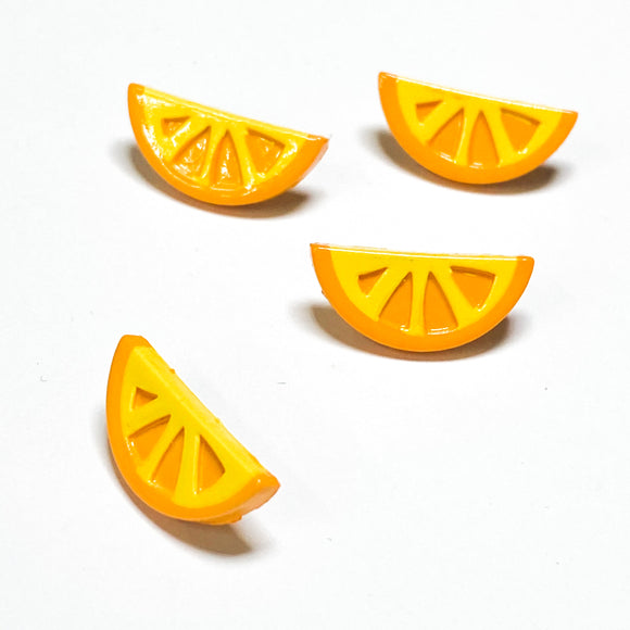 Orange Slice Button
