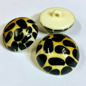 Leopard Shank Button