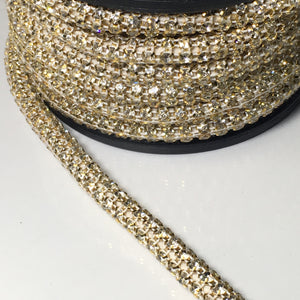 #GT116 Gold Crystal Rope