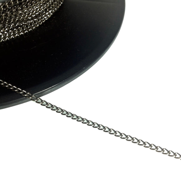 Gunmetal Chain 3mm
