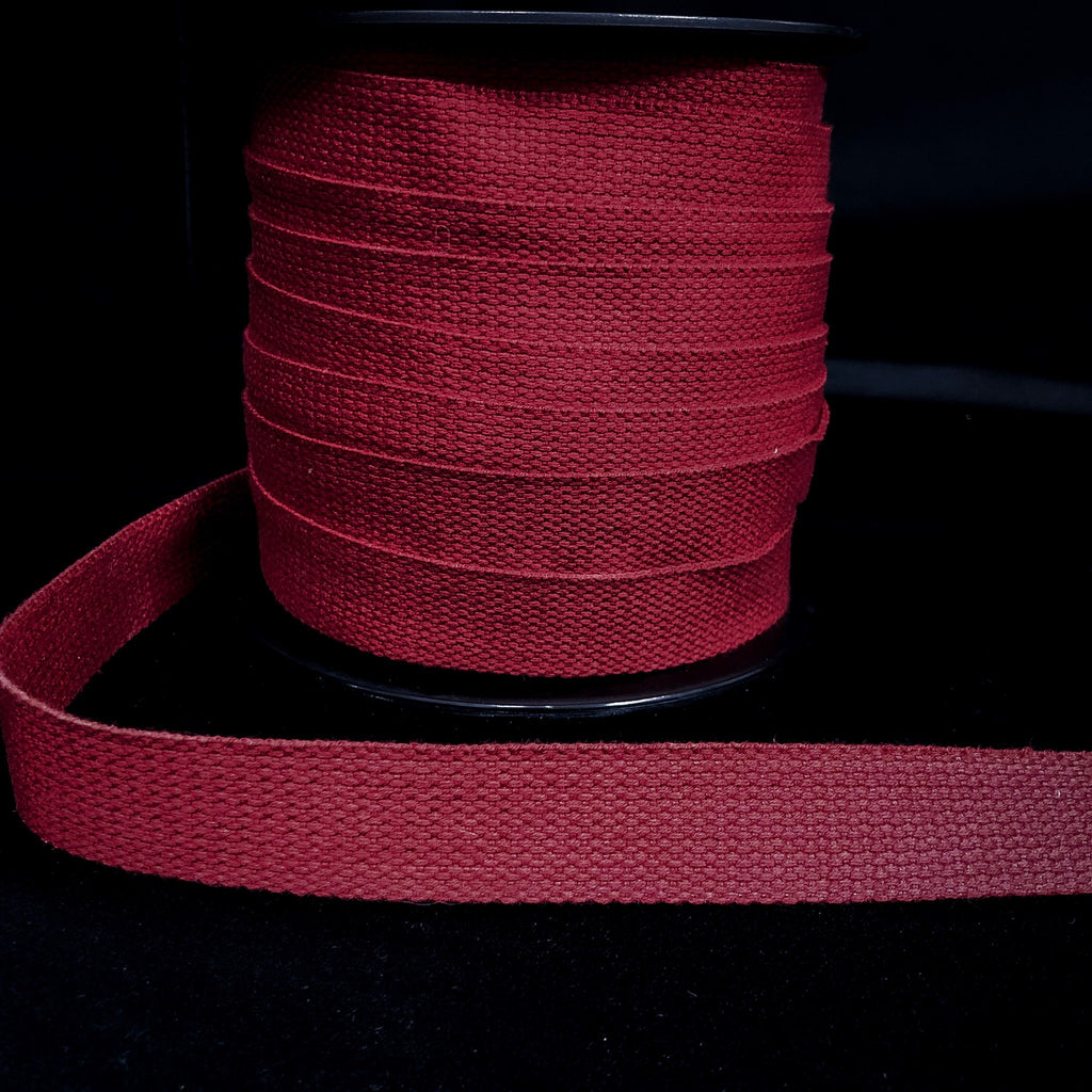 25mm Webbing Scarlet Red