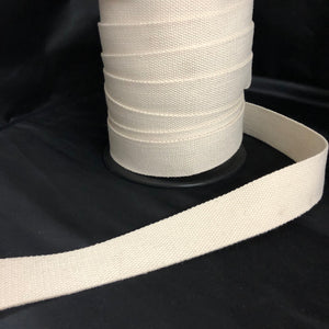 38mm Webbing in White