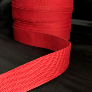 38mm Webbing Red