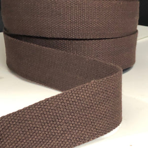 38mm Webbing Chocolate
