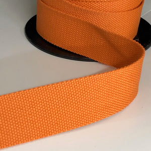 38mm Webbing Orange