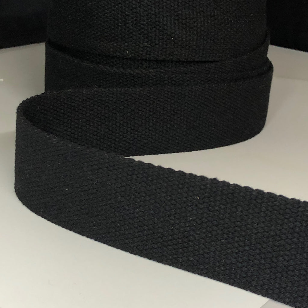 38mm Webbing Black