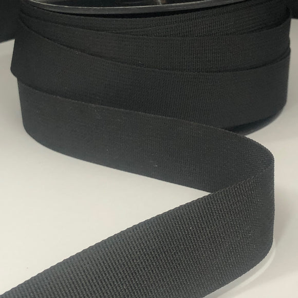 32mm Webbing Black
