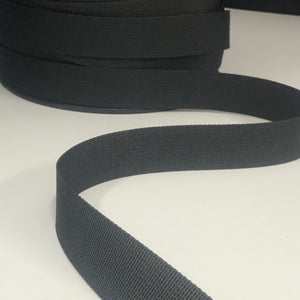 25mm Webbing Black