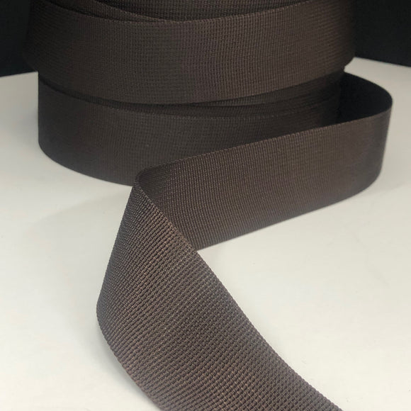 38mm Wanda Webbing in Chocolate