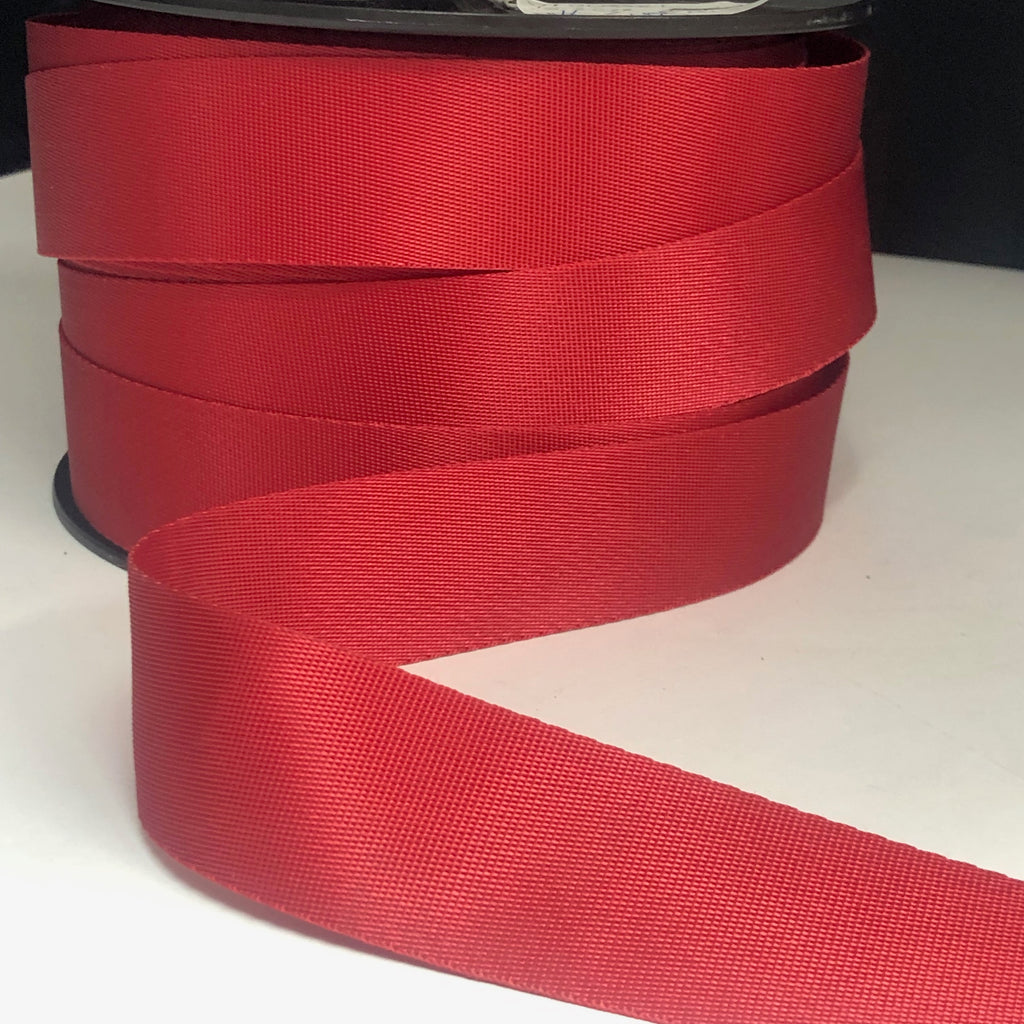 32mm Webbing Red