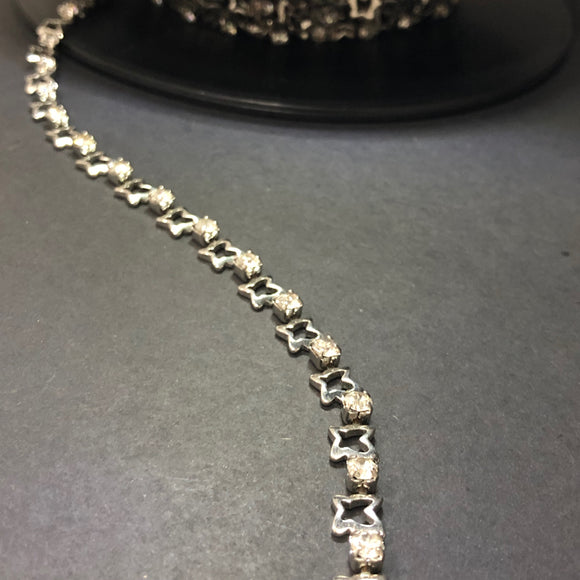 Butterfly Diamante Chain