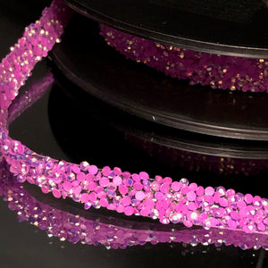 Purple Confettti Trim