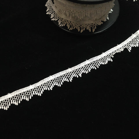 YT204378 Embroidered Lace Edging 20mm