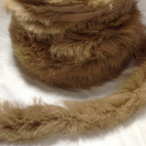 Fur Piping Trim Assorted Colours