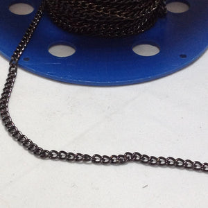 Gunmetal Chain 4mm