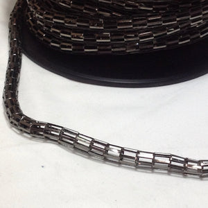 YBU201572 Gunmetal Grey Tube Chain 8mm