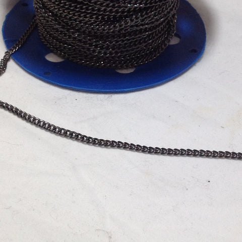 Gunmetal Grey Link Chain 4mm