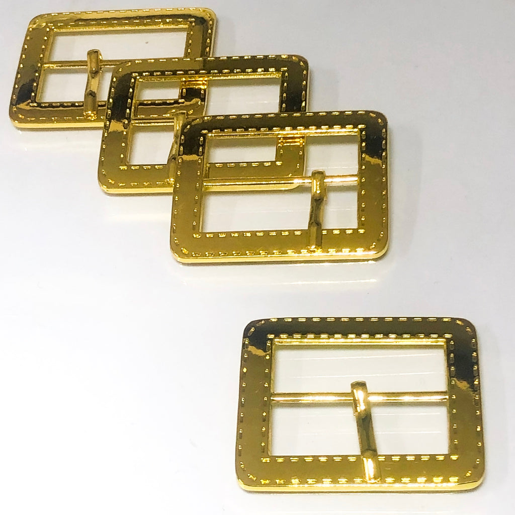 Stitch Buckle Yellow Gold