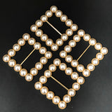 Square Pearl Buckle