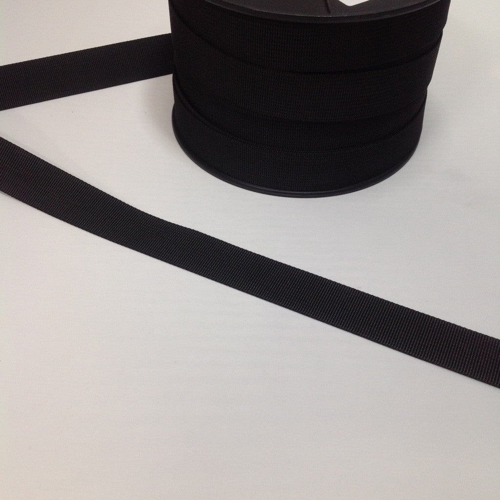 Webbing Black 25mm