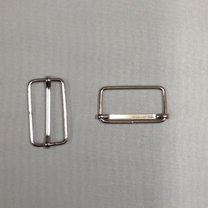 Metal Slider Buckle Nickel 30mm