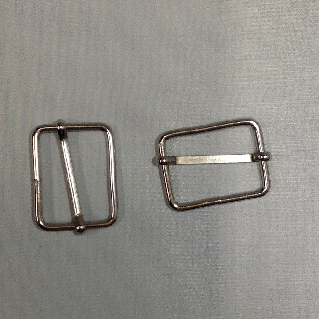 Metal Slider Buckle Nickel 60mm