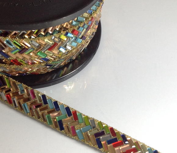 Fiesta Multi Coloured Trim
