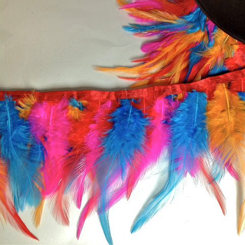 YF201304 FEATHER TRIM